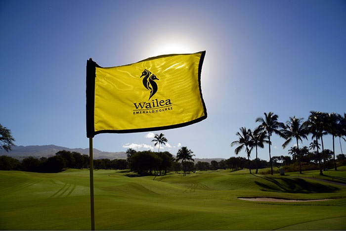 Wailea-Golf-Club-Emerald-Course-Flag